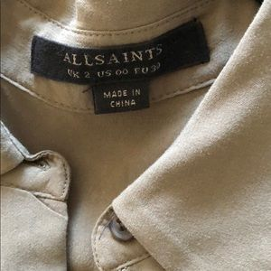 bf700852d71 All Saints Pants - Allsaints Nila Playsuit Olive Green